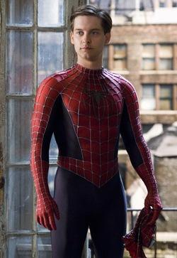 Jensen Ackles como Peter Parker?