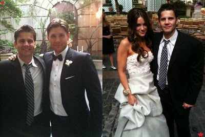 Casamento de Jensen com Danneel Harris